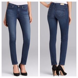 AG Adriano Goldschmied Prima Mid Rise Skinny Jeans